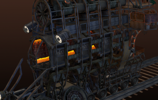 Steam Punk Train WIP